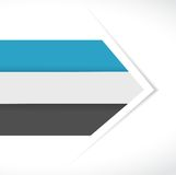 Color lines arrow for customization info graphics. Stock Photo