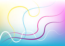 Color lines background Stock Photography