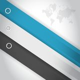Color lines for customization info graphics Stock Photography
