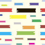 Color lines seamless Royalty Free Stock Photography