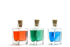 Color liquids Royalty Free Stock Photo