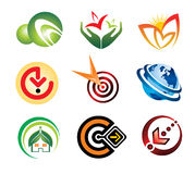 Color logo Collection1 Royalty Free Stock Photo