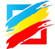 Color logo concept. Has been created as vector Stock Photography