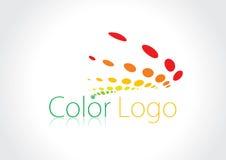 Color logos. This is a Color vector logos Royalty Free Stock Photos