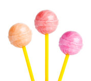 Color lollipops Stock Photography