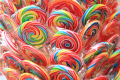 Color lollypops Royalty Free Stock Photos