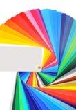 color märkduken Arkivbilder