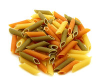 Color macaroni Stock Images