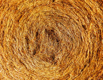 Color macro photography of straw bale Royalty Free Stock Photos