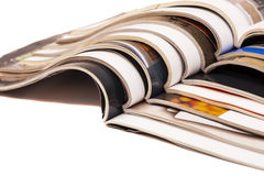 Color magazines Royalty Free Stock Photo