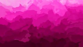 Color magenta rosado vivo video manchado animado abstracto del lazo inconsútil del fondo metrajes
