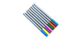 8 color magic pen Royalty Free Stock Images