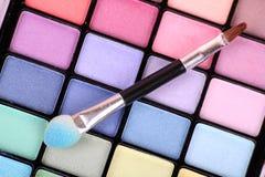 Color Makeup Palette Stock Photography