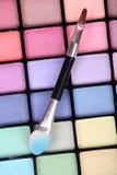Color Makeup Palette Stock Photos