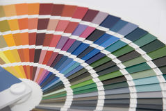 Color management / color chart Royalty Free Stock Photography