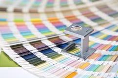 Color management. Press color management, color chart Royalty Free Stock Photos