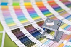 Color management. Press color management, color chart Stock Photography