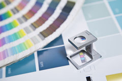 Color management Royalty Free Stock Photography