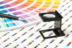 Color management. In print production royalty free stock images