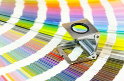 Color management in print production Stock Image