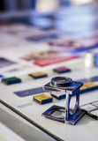 Color management in printing process Stock Images