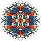 Color the mandala. Royalty Free Stock Photography