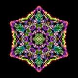 Color mandala om Stock Image
