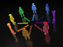 Color mans Stock Images