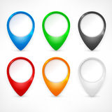 Color map pointers Stock Image