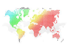 MAP color Stock Images
