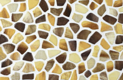 Color marble textures, mosaic tiles collage Royalty Free Stock Photos