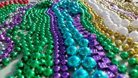 Color of Mardi Gras Royalty Free Stock Photos