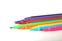 Color marker pen Royalty Free Stock Image