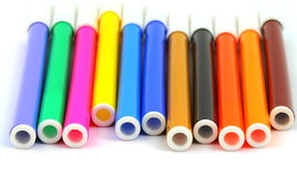 Color markers Royalty Free Stock Photos