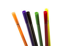 Color Markers Stock Photos