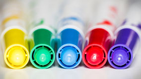Color markers Royalty Free Stock Photo
