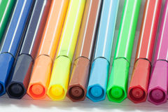 Color markers Royalty Free Stock Image