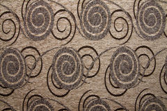 Color marrón del camello de Anemon 109 de la textura de la tela de materia textil Foto de archivo