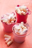 Color marshmallow Stock Image