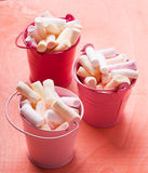 Color marshmallow Stock Images