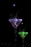 Color Martini Foto de archivo libre de regalías
