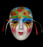Color mask stock photography