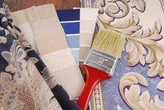 Color material que elige para el interior foto de archivo libre de regalías