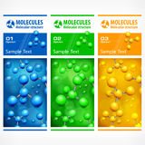 Color medical science poster Stock Photography