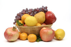 Color of mediterranean fruit Stock Images