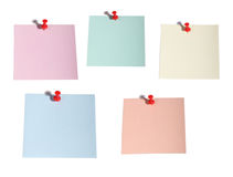 Color memory notes Stock Image