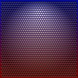 Color Metal Grille. Red and blue Color Metal Grille stock illustration