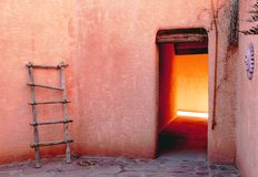 color mexico ny arkivbild