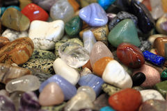 Color minerals background Royalty Free Stock Images