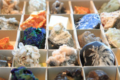 Color minerals background Royalty Free Stock Photo